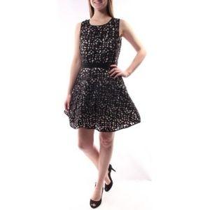 Xscape Plus Size Lace Fit & Flare Dress size 14P